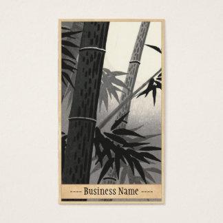 Tokuriki Bamboo and Sun japanese fine art Business Card