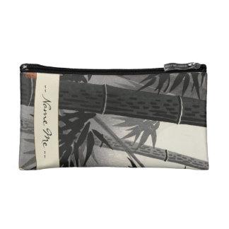 Tokuriki Bamboo and Sun japanese fine art Makeup Bag