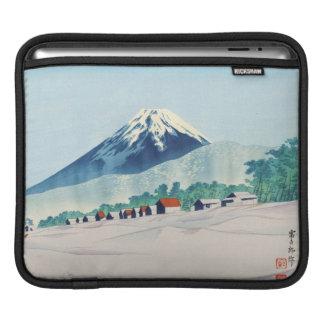 Tokuriki Tomikichiro 36 Views Of Fuji art japan iPad Sleeve