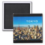 Tokyo 001C 2 Inch Square Magnet