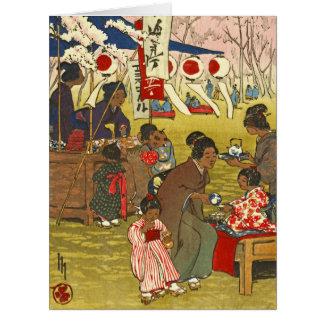 Tokyo Blossoms 1914 Card