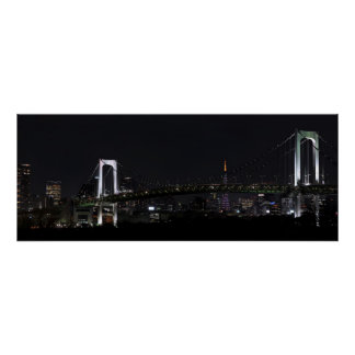 Tokyo by Night Poster