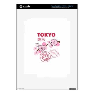 TOKYO CHERRY BLOSSOM iPad 3 DECAL