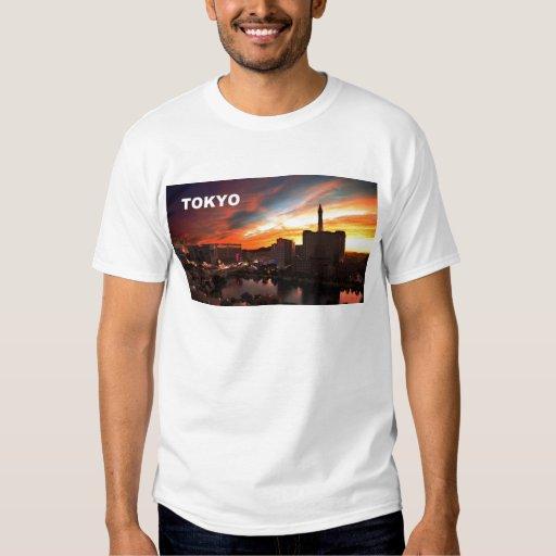Tokyo city at twilight (St.K) T Shirt