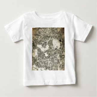 Tokyo City Streets and Buildings Vintage Design Baby T-Shirt