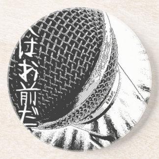 Tokyo Deejays Retro 1980s music  Mega Microphone Drink Coaster