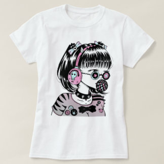 Tokyo fashion girl bubble T-Shirt