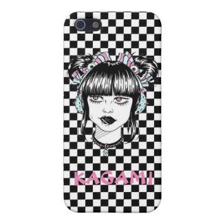 Tokyo fashion girl Checkerwork manga iPhone SE/5/5s Cover