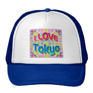 "Tokyo Festival 3 ""I LOVE Tokyo"" Hat"