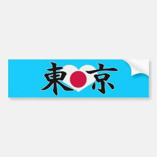 TOKYO JAPAN CAR BUMPER STICKER