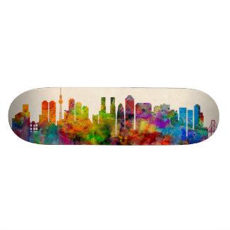 Tokyo Japan Skyline Cityscape Skateboard