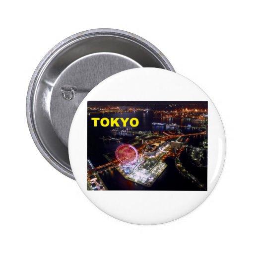 Tokyo Japan (St.K) 2 Inch Round Button