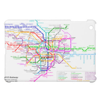 Tokyo Japan Subway Case For The iPad Mini