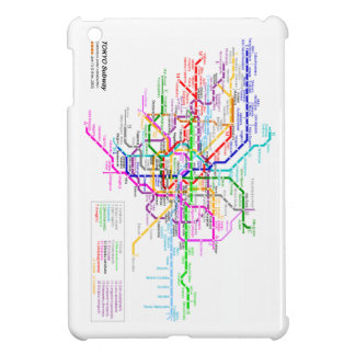 Tokyo Japan Subway Map Case For The iPad Mini
