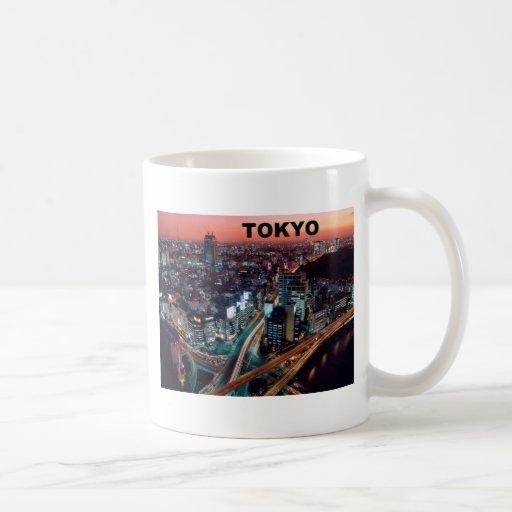 Tokyo Japan Sunset (St.K) Classic White Coffee Mug
