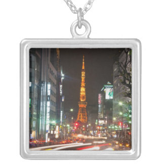 Tokyo, Japan. Tokyo Tower is a communications Silver Plated Necklace