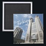 "Tokyo Japan Travel Souvenir Fridge Magnets<br><div class=""desc"">Refrigerator magnets picture a city scape in Tokyo.</div>"