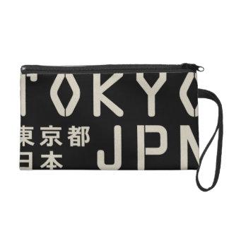 tokyo, japan wristlet