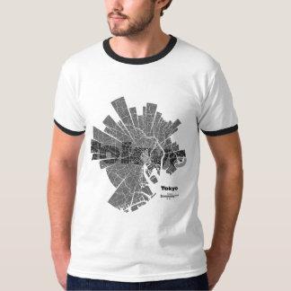 Tokyo Map Ringer T-Shirt