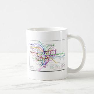 Tokyo Metro Map Coffee Mug