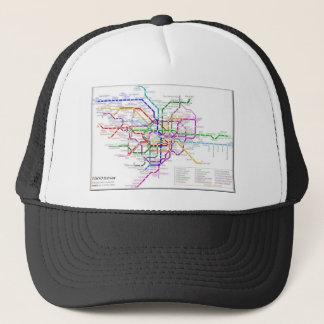 Tokyo Metro Map Trucker Hat