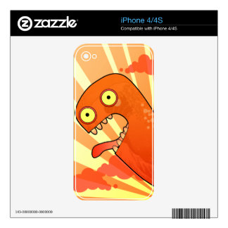 Tokyo Monster iPhone 4S Decal