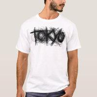 Tokyo Scratch T-Shirt Black