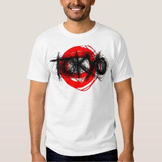 Tokyo Scratch T-Shirt Red