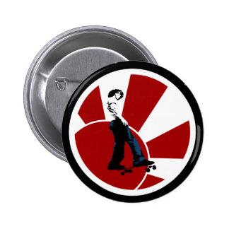 Tokyo Skate Button