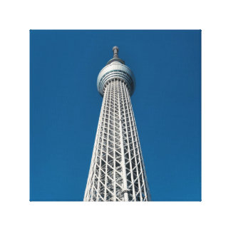 Tokyo Skytree Observation Tower Canvas Print