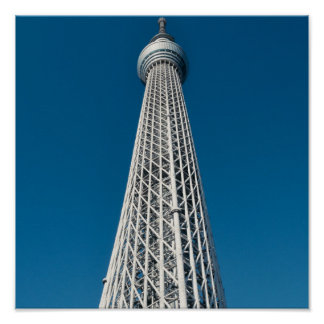 Tokyo Skytree Observation Tower Poster