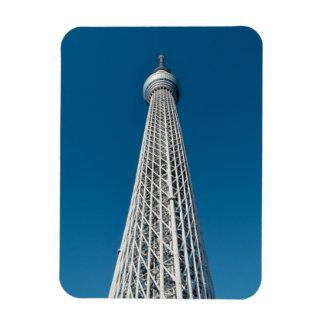 Tokyo Skytree Observation Tower Rectangular Photo Magnet