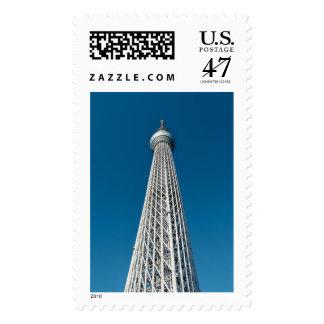 Tokyo Skytree Observation Tower Stamp