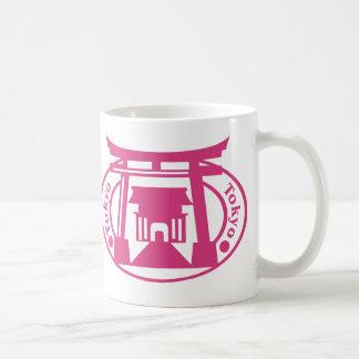 Tokyo Stamp Classic White Coffee Mug
