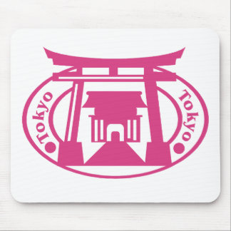 Tokyo Stamp Mouse Pad