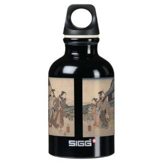 Tokyo Street Scene with Mt. Fuji SIGG Traveler 0.3L Water Bottle