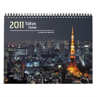 Tokyo Tower 2011 Calendar
