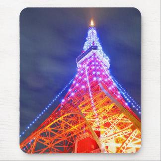 Tokyo Tower at night Mouse Pad