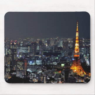 Tokyo Tower by Night Mouse Pad