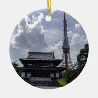 Tokyo Tower Ceramic Ornament