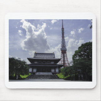 Tokyo Tower Mouse Pads