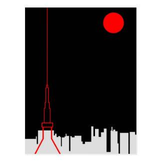 Tokyo Tower Postcards
