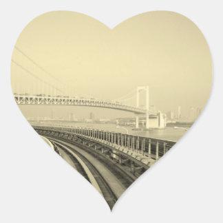 Tokyo Train Heart Sticker