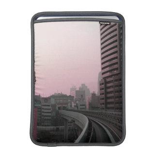 Tokyo Train tracks Sleeves For MacBook Air