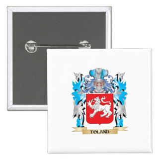 Toland Coat of Arms - Family Crest Pin