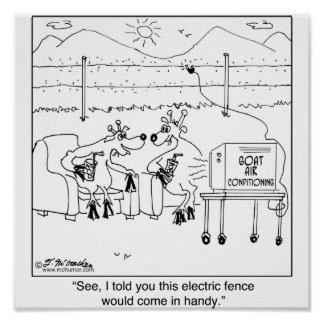 Told You the Electric Fence Would be Handy: Poster