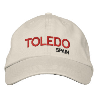 Toldeo* Spain Personalized Adjustable Hat Embroidered Baseball Caps