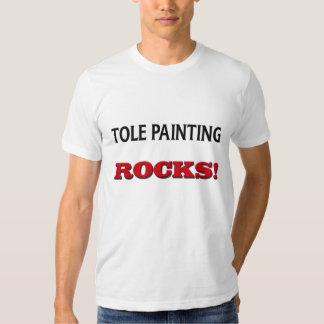Tole Painting Rocks T-shirt