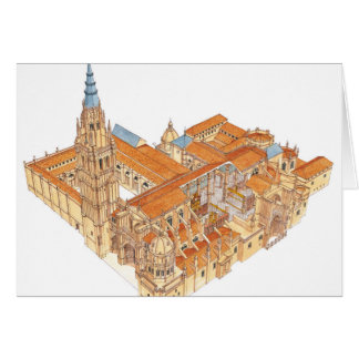 Toledo Cathedral. Spain Card