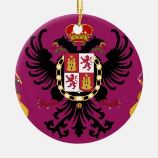 Toledo (España) Adorno Navideño Redondo De Cerámica